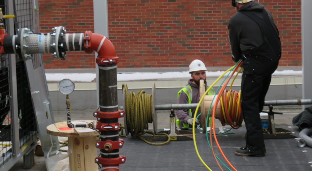 Kutztown University Receives Upgraded HVAC Work Done By IBEW Local 743 Members